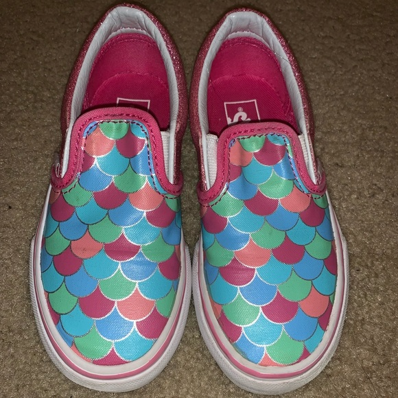 bedffd04269c Mermaid scales kids vans